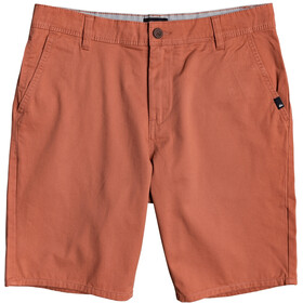 Quiksilver Everyday Light Pantalones cortos Chino Hombre, redwood